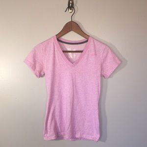 Nike Dri-Fit Lilac Tee Shirt XS